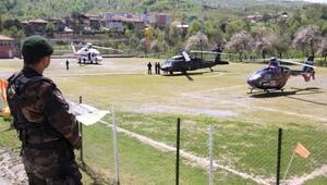 Başbakan için 3 helikopterli koruma