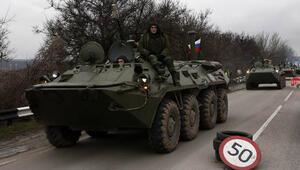 Rusya yavaş yavaş Ukraynaya giriyor