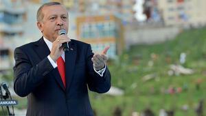 Erdoğan'dan HDP'ye saldırı yanıtı