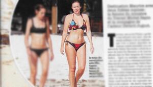 Valerieden bikinili rövanş