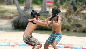 Survivor All Star izle Ödül oyununda diskalifiye ettiren kavga | Turabi ve Hakan