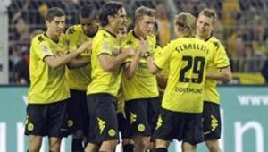 Dortmund Wolfsburga acımadı