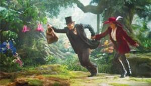 Üçkağıtçı Oz'la renkli bir macera