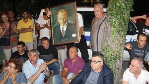 Kırklarelinde Atatürk krizi