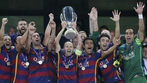 Süper Kupa Barcelonanın: 5-4