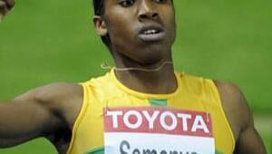 Semenyadan 800 metrede altın madalya