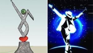 İşte Midyata dikilecek Michael Jackson heykeli