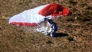 39 bin metreden atladı