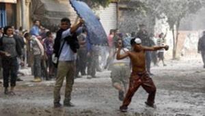 Müslüman Kardeşler ofisleri ateşe verildi
