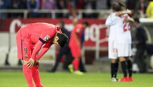 Sevilla geri döndü Barcelona yara aldı