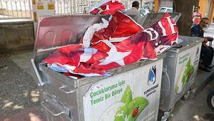 Manisa'da MHP ile Ak Parti arasında bayraklı afiş krizi