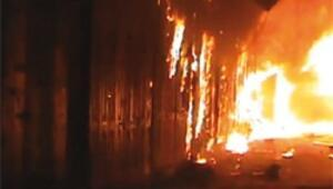ÖSO hamamı üs yaptı tarihi kapalıçarşı yandı