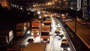 Trafikteki araç sayısı 10 ayda 755 bin adet arttı