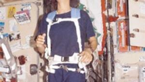 Uzay istasyonunda maraton koşacak