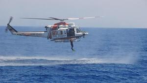 Deniz Aslanı 2014 Arama Kurtarma Tatbikatında gövde gösterisi