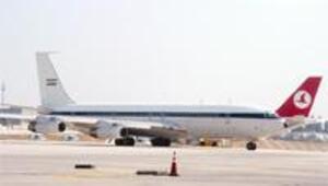 İran Cumhurbaşkanlığı uçağına 'zorunlu' iniş