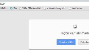 Seçmen listeleri askıya çıkarıldı YSK sitesi çötü
