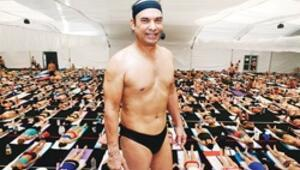 Meşhur yogiye taciz davası