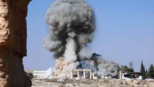 IŞİD, Palmirada yıktığı tapınağın görüntülerini yayınladı