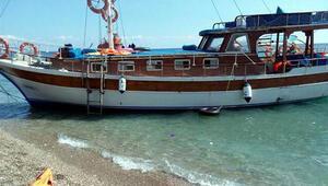 Marmaristen tekne satın alan 135 umut yolcusu Rodos'a çıktı