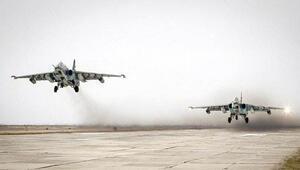 Suriye'de 28 Rus savaş uçağı