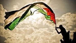 BMde bayrak sırası Filistinde