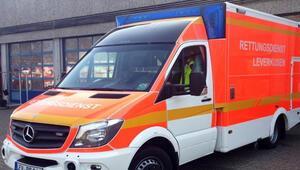 Ambulansta seks skandalı