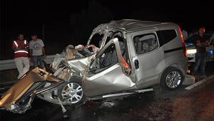 Kazada ölen kadının kimliği belli oldu