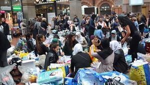 Sığınmacılar İsveçe akın ediyor