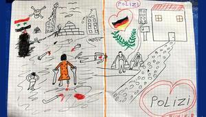 Almanya Suriyeli çocuğun resmini konuşuyor