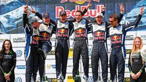 Ogierle Volkswagen, evinde ilk WRC zaferini aldı