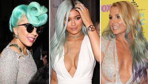 Yeni moda akımı Renkli saçlar