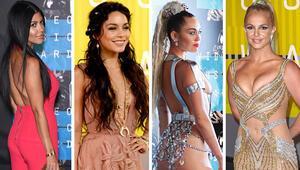 MTV Video Müzik Ödüllerinde kim ne giydi