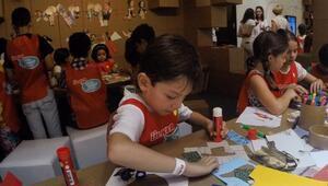 13.000 çocuk sanatla buluştu