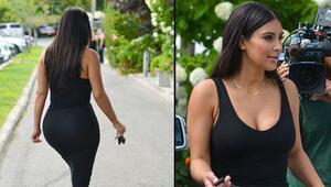 Kim Kardashianın bedeninin her parçası servet değerinde