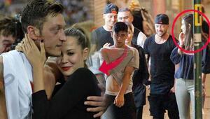 Mesut Özil eski aşkı Mandy Capristo'ya moral verdi