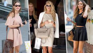 Ünlü kadınların alışveriş modası