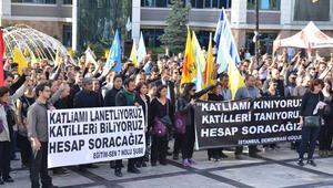Bugün ve yarın tüm Türkiyede iş bırakıyoruz