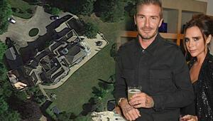 David Beckham ve Victoria Beckhamın yeni evlerinin adı Beckhingam Sarayı