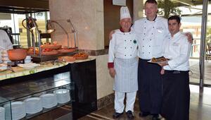 Cafe Swiss'te Marmara mutfağı