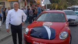 Vural'dan kaplumbağalı seçim kampanyası