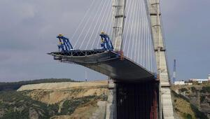 3. köprü denizden görüntülendi