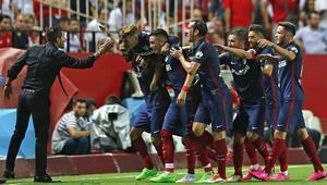 Atletico ve Barça 2de iki yaptı