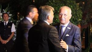 Abdullah Gül, İhsanoğlu'nun oğlunun düğününe katıldı