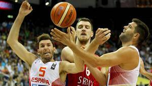İspanyaya Sırbistan şoku