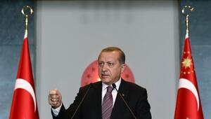 Cumhurbaşkanı Erdoğan YÖK heyeti ve rektörleri kabul etti