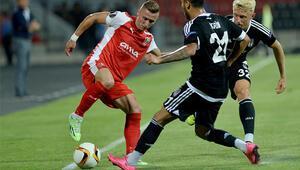Skenderbeu - Beşiktaş maçı özeti   Golü kim attı (UEFA)