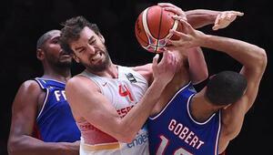 İspanya finalde Gasolden 40 sayı 11 ribaund