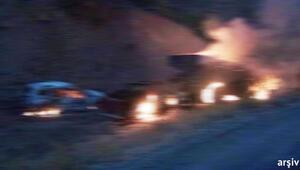 Hakkari'de 2 ton bomba yüklü araç inflak ettirildi