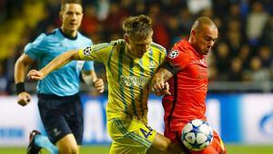 Astana 2-2 Galatasaray